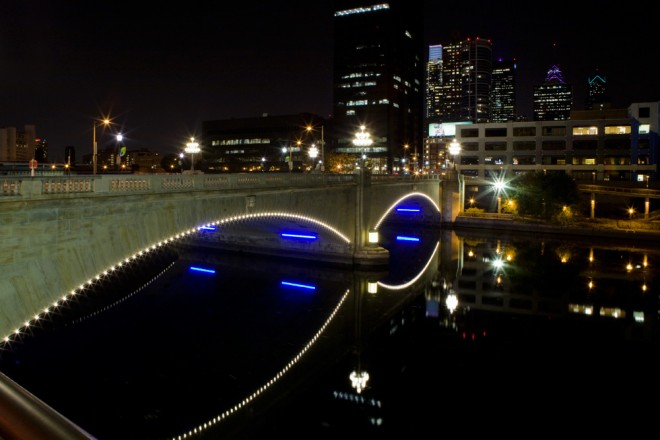 Schuylkill And City Alight | Photo: Bradley Maule