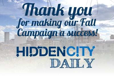 Fall Hidden City Campaign Hits Goal!
