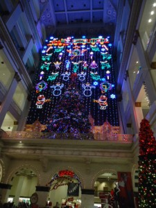 Grand Court fully decked out for the holidays | Photo: Shadowbat
