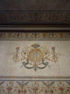 Detailed mosaics on the walls and ceiling of the entryways still bear the initials of John Wanamaker, despite many changes over the years | Photo: Shadowbat