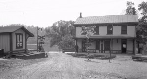 Shawmont Station in 1929 | Reading Company Technical and Historical Society