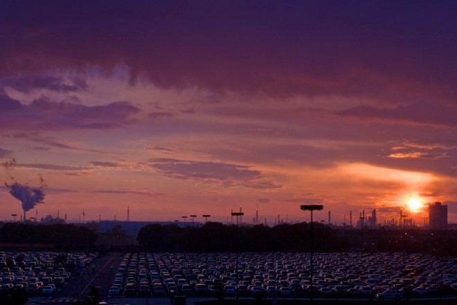 Sunset over Sunoco, circa-2011 | Photo: Bradley Maule