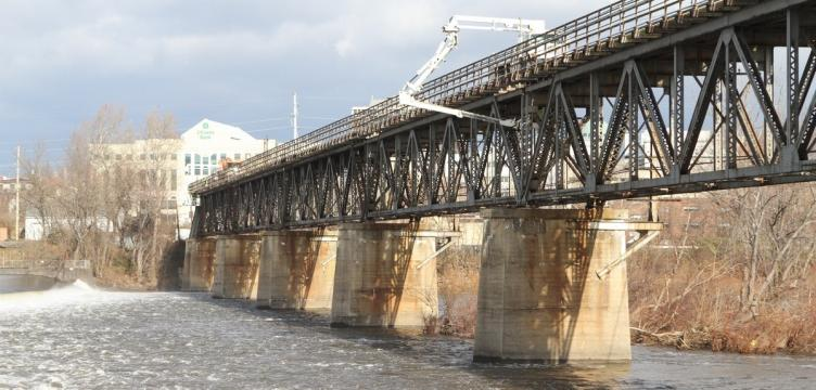 Casey says the Bridgeport Viaduct will be closed in order to replace its timber | Photo: Plan Philly