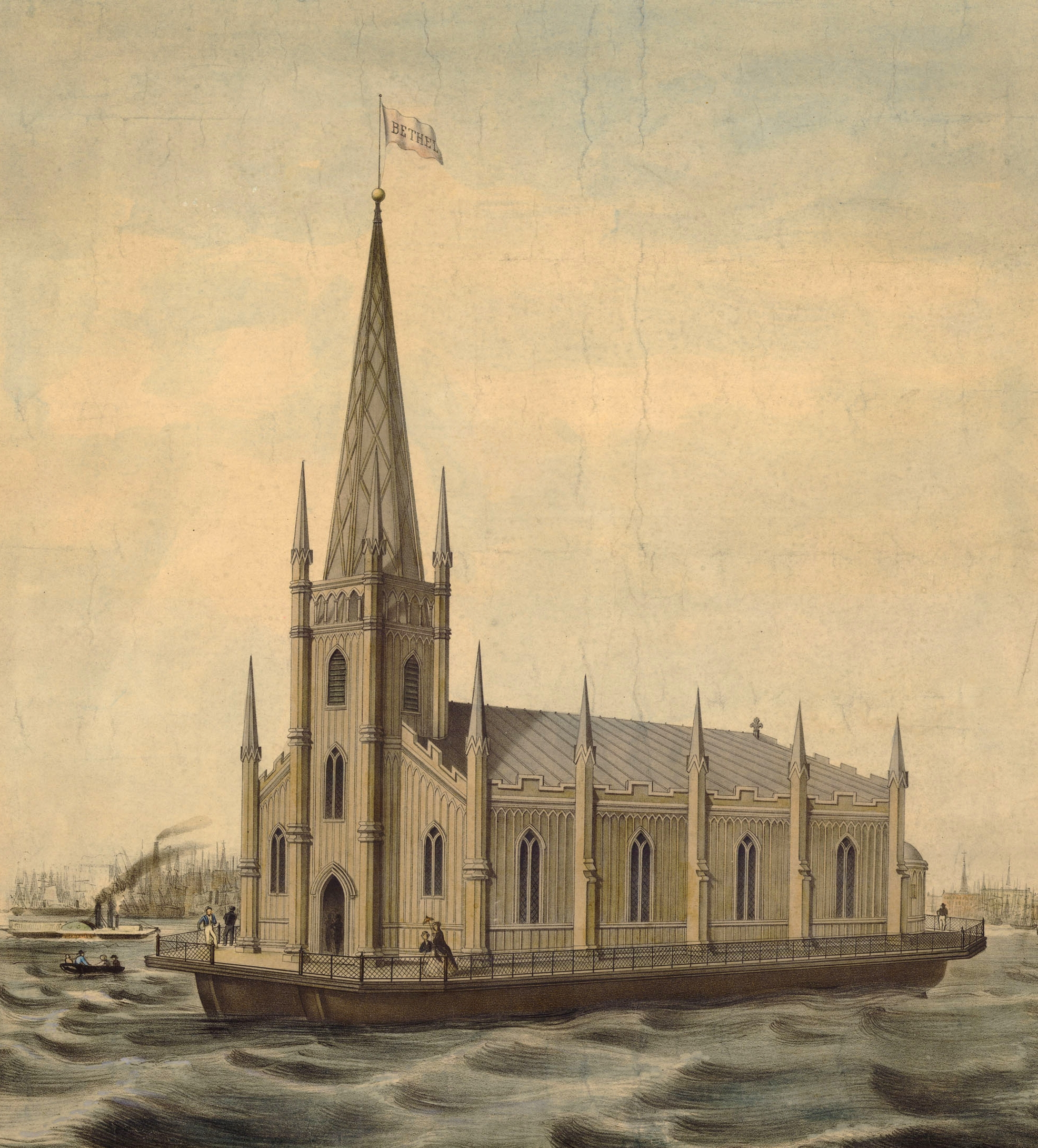 The Floating Church of the Redeemer. | Library of Congress.