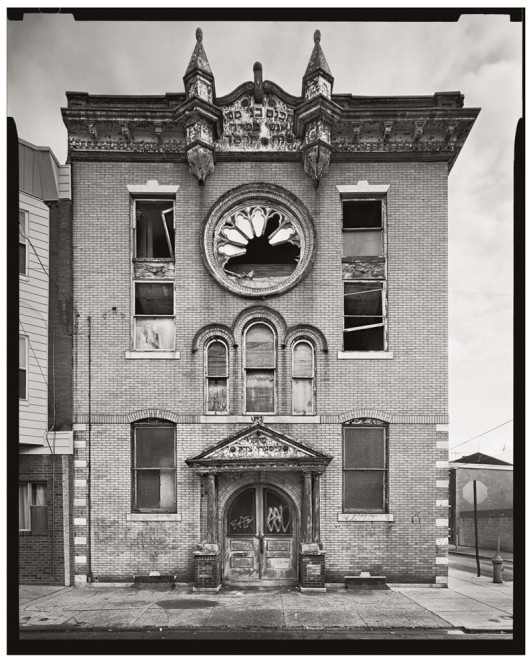 B'nai Moshe Anshe Sfard Synagogue, 1711 South 5th Street. Demolished 2004 | Photo: Vincent Feldman