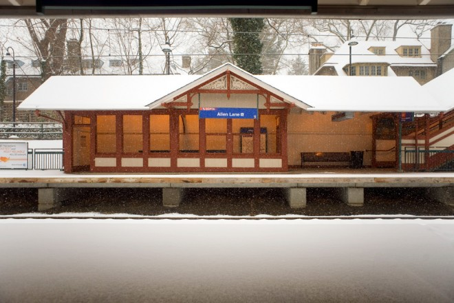 Allen Lane Station? Oh yeah, that's up on Allens Lane | Photo: Bradley Maule