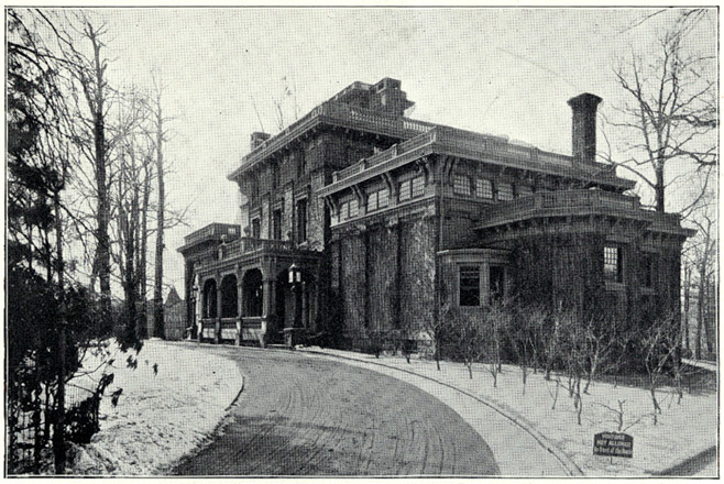 "Clark's West Philly mansion, ""Chestnutwold,"" was demolished in 1916. 