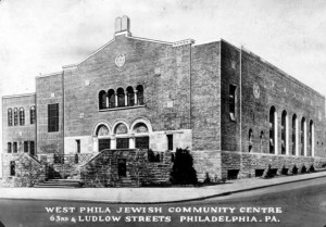 West Philadelphia Jewish Community Center, circa 1940 | Used with permission of the Special Collections Research Center, Temple University Libraries, Philadelphia, PA