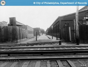 25th & Manton, before the elevated, circa 1916 | Image via PhillyHistory.org
