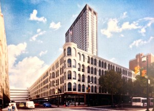 Rendering of MIC Tower by Stantec Architecture, via Philadelphia Historical Commission