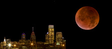 Tonight Over Philly: Lunar Eclipse vs Terrestrial Weather