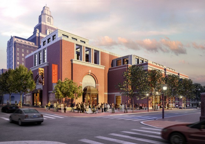 Whoomp, there it is | Rendering: Robert A.M. Stern Architects, Museum of the American Revolution