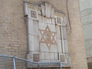 Even filed off, it's still a Star of David—until it's replaced by something | Photo: Fran Melmed