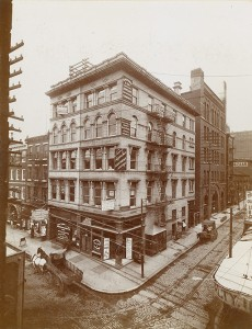 Bowes Building, about 1899 | Source: Free Library of Philadelphia