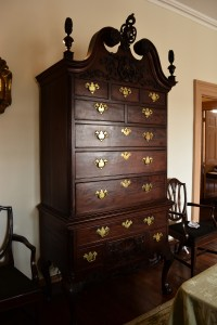 William Rawle's highboy | Photo: Smokie Kittner