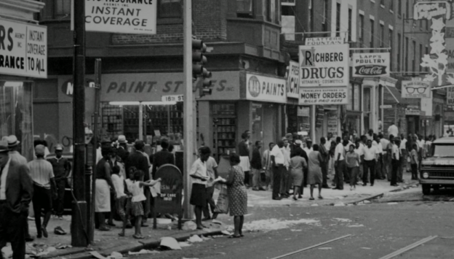 "Columbia Ave, August 1964 | Still from ""Promise,"" History Making Productions"