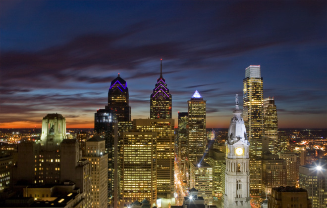 Philly Skyline, post-PNB | Photo: Bradley Maule