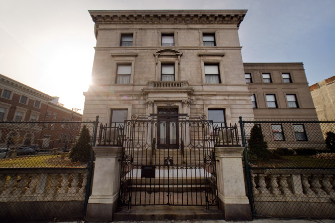 Last man standing: Burk Mansion, the last of the grand old mansions of North Broad Street | Photo: Bradley Maule