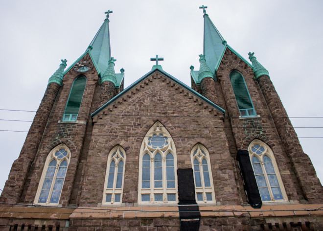 St. Laurentius Roman Catholic Church in Fishtown was approved for placement on the Philadelphia Register of Historic Places in July 2015 after a contentious battle between parish members and neighbors against the Archdiocese of Philadelphia who opposed the designation. A nomination to legally protect the interior of the church goes before the Historical Commission's Committee on Historic Designation on March 17 | Photo: Michael Bixler