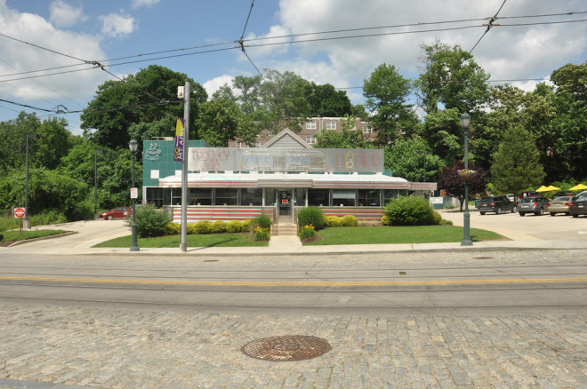 The Trolley Car Diner represents Ken Weinstein's support for Mt. Airy's continued revival. Just don't ask him when the actual trolleys will return to the tracks on Germantown Avenue.