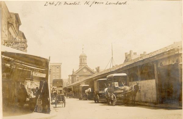 Headhouse Market in 1899 | Courtesy of the Free Library of Philadelphia