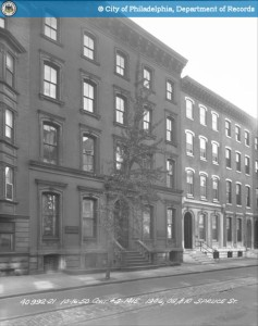 1906-08 Spruce, 1950 | Source: PhillyHistory.org