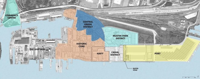 Navy Yard Districts 2013