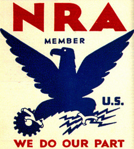 Who knew the Philadelphia Eagles drew their identity from the NRA—a patriotic, political project? | Image via Wikipedia