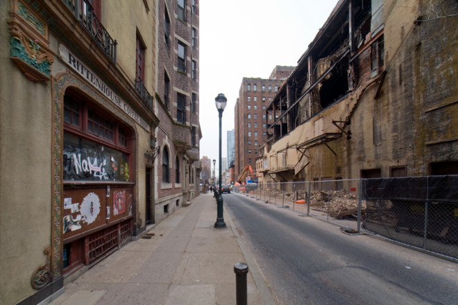 Demolition Row: 1900 block of Sansom Street, mid-2015 | Photo: Bradley Maule