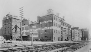 The Bergner & Engel Brewery in its pre-Prohibition glory days | Courtesy Hagley Museum and Library