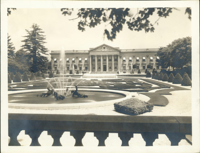 Lynnewood Hall, Elkins Park | Courtesy of the Athenaeum of Philadelphia