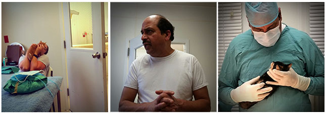 """""""I want to revolutionize Morris. We are blessed to have good volunteers who come on weekends to assist."""" Dr. Ravi Mararka   Photos: Joseph G. Brin"""