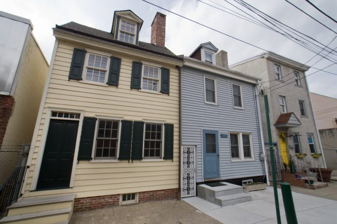 Preservation by late addition: homes on 1100 block of East Berks Street | Photo: Bradley Maule