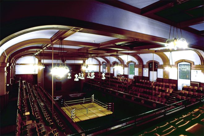The Blue Horizon's auditorium in February, 2014. Despite the legendary arena's global reputation and undeniable historic importance, the Philadelphia Historical Commission voted not to place the venue's interior on the local register in March 2015 | Photo: Vince Herbe
