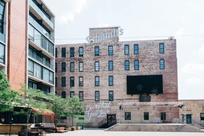 New owner Kushner Companies announces rebranding campaign with new name Schmidt's Commons