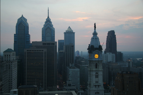 Philadelphia, 2006, the first year of population growth after its post-industrial decline. | Photo: Dennis Yang, Flickr