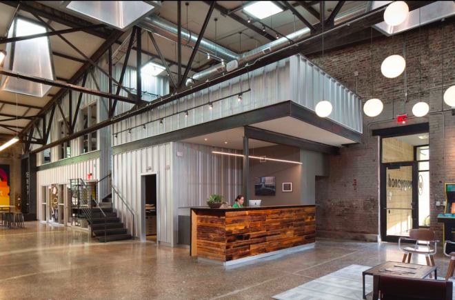 Interior shot of the new headquarters of Honeygrow in Fishtown | Photo: Matt Wargo, for The Inquirer