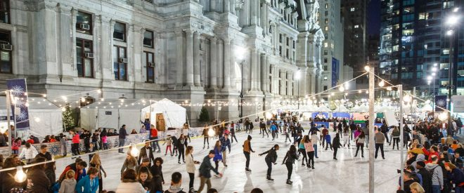Rothman Institute Ice Rink at Dilworth Park | Photo: Center City District