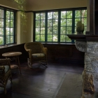 Inside the restored Teahouse