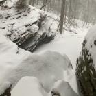 Cresheim Creek, Devil's Pool, bomb cyclone