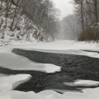 Wissahickon Creek, Fingerspan, bomb cyclone