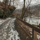 Schuylkill River Trail, slush mode