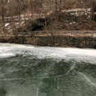 Upper reaches of the Manayunk Canal and passing R6