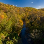 View of the Wissahickon Valley from Walnut Lane Bridge