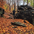 Jason Killinger gets to know Wissahickon schist