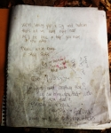 A page in the Hermit\'s guestbook