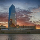 Rob Lybeck | Cira Center from the Schuylkill River Trail.