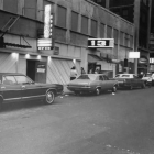 Exterior view of clubs and bars on 13th Street, 1972