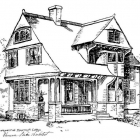 Prospective Sketch for Cottage, 1891