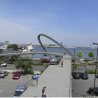 South Street pedestrian bridge extension | Image: DRWC